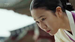 Yoon Jin Seo in 2016 historical k-drama The Royal Gambler aka Jackpot
