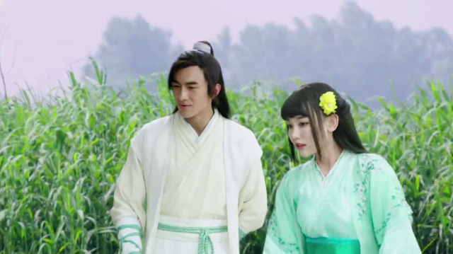 Lin Gengxin in God of War Zhao Yun, a Chinese historical wuxia
