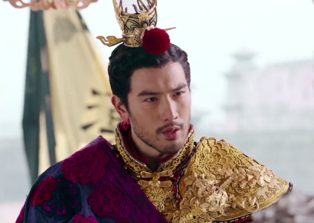 Godfrey Gao in God of War Zhao Yun, a Chinese historical wuxia