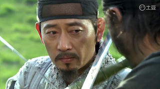 Jun Kwang Ryul in Warrior Baek Dong Soo