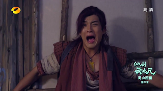 Elvis Han in Chinese Paladin 5 episode 2