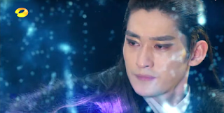 Zhang Han in 2016 c-drama Classic of Mountains and Seas