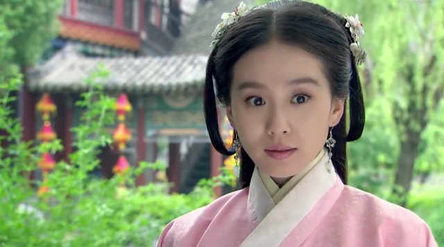 Liu Shi Shi in ep1 of popular 2016 cdrama Imperial Doctress