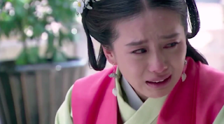Liu Shi Shi and Wallace Huo in ep7 of popular 2016 cdrama Imperial Doctress