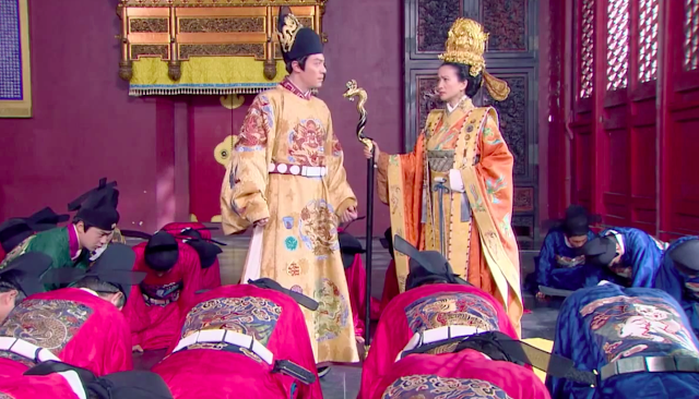 Wallace Huo in Imperial Doctress, a 2016 Chinese historical drama