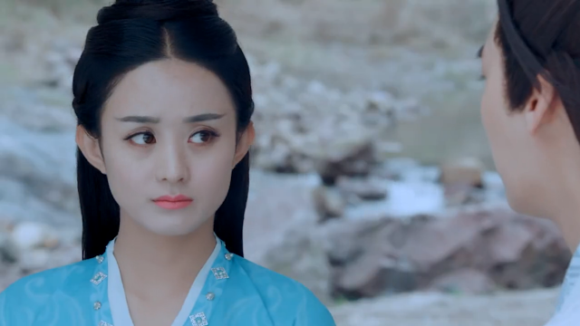 Zhao Li Ying in Legend of Chusen