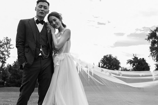 Shawn Yue Sarah Wang welcome baby