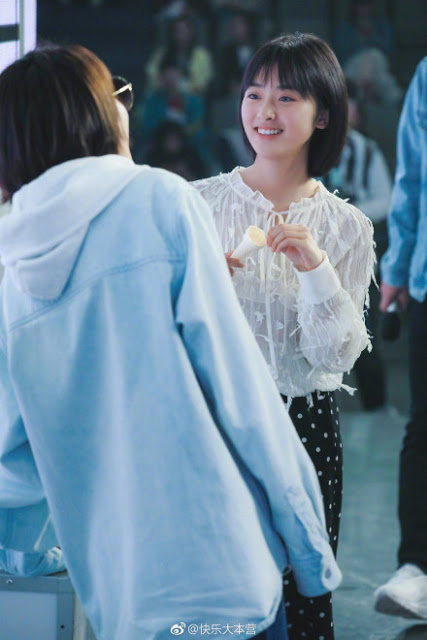 Shen Yue Happy Camp first time guest