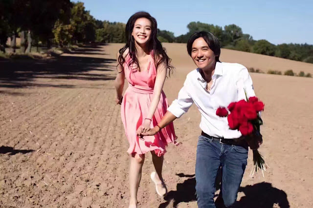 Stephen Fung and Shu Qi married