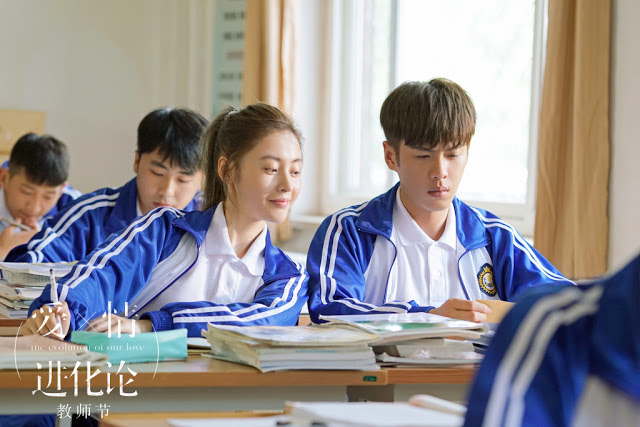 The Evolution of Our Love Student Crystal Zhang Zhang Ruoyun