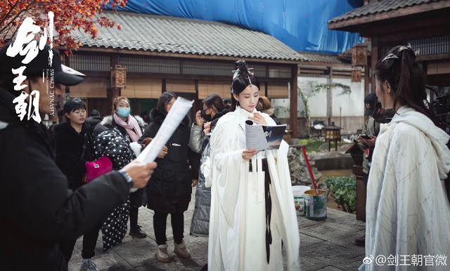 Live Action Sword Dynasty filming Li Yitong
