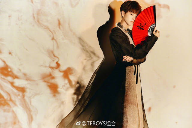 TFBoys 5 year anniversary 2018 Karry Wang