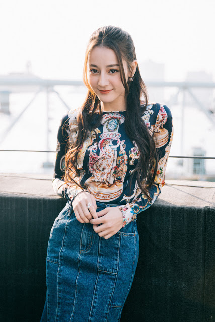 Dilraba Dilmurat Tencent 2019 3L3W The Pillow Book