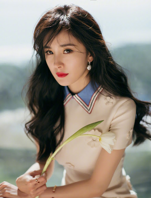 top valuable chinese star 2018 Yang Mi