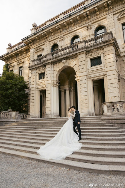 janice man wedding italy