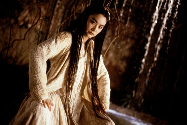 Bride with White Hair 1993, Leslie Cheung and Brigitte Lin, Lin Qing Xia, classic wuxia most romantic, asian drama withdrawals