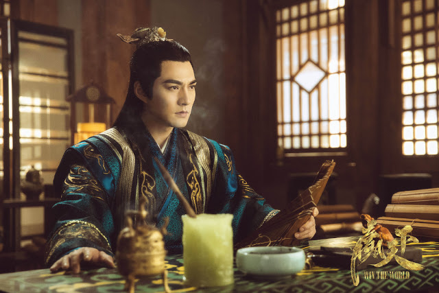 Win the World historical c-drama Yan Qi Kuan