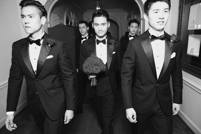 Eddie Peng and Hu Ge in Yuan Hong and Zhang Xinyi Wedding 2016