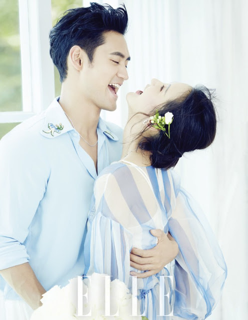 Yuan Hong and Zhang Xinyi pre-wedding shoot May 2016