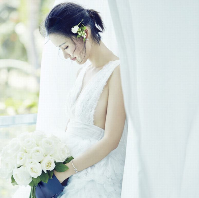 Zhang Xinyi pre-wedding shoot