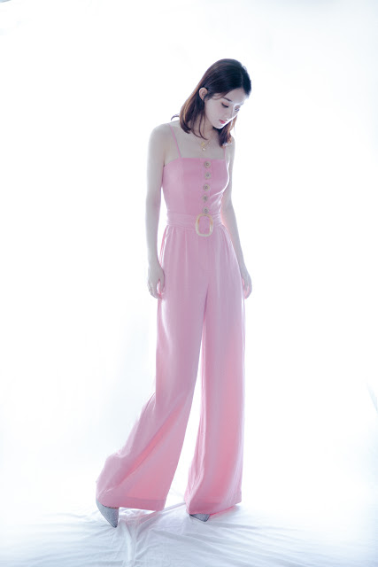 Zhao Liying pretty in pink
