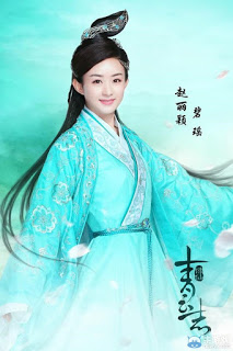 Zhao Li Ying in 2016 fantasy wuxia Legend of Chusen
