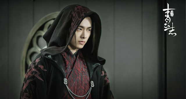 Li Yi Feng in 2016 c-drama Legend of Chusen