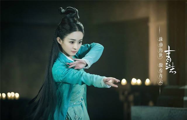 Zanilia Zhao Li Ying in 2016 best Chinese fantasy drama Legend of Chusen