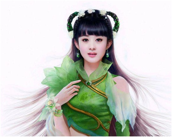 Zhao Liying as Bi Yao