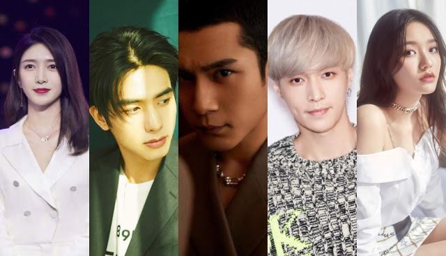 chinese stars cancel endorsements