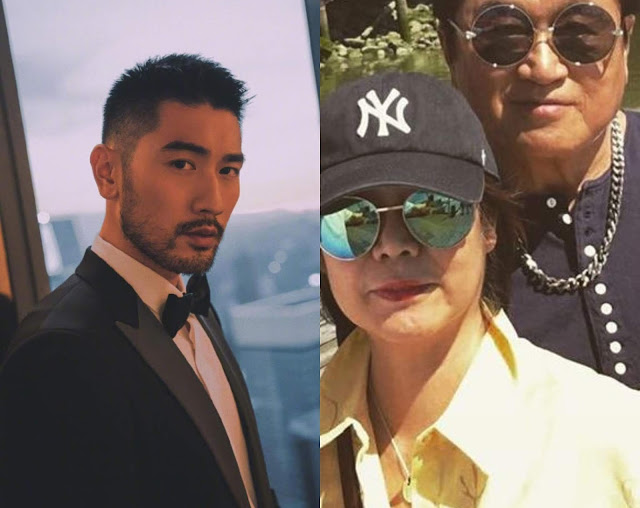 godfrey gao mom