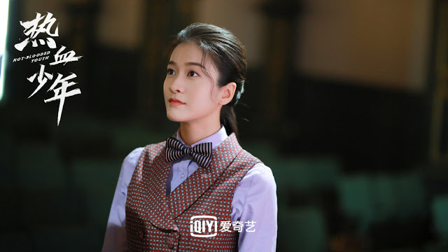 hot-blooded youth action cdrama sophie zhang