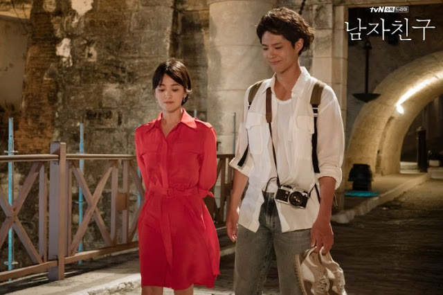 First Impressions kdrama Encounter Song Hye Kyo Park Bo Gum