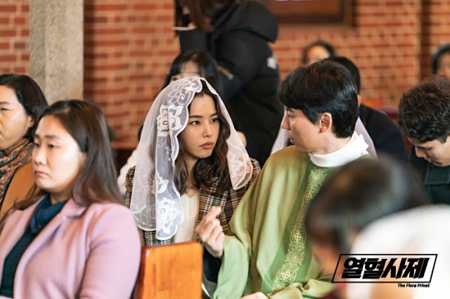 fiery priest kdrama first impressions Honey Lee