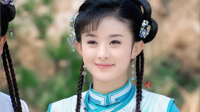 Qing Dynasty Costumes New My Fair Princess Zhao Liying