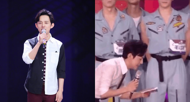 He Jiong Praised for Bowing Down While Hosting to Give the Spotlight to Reality Show Contestants