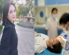 Gillian Chung Hits Her Head