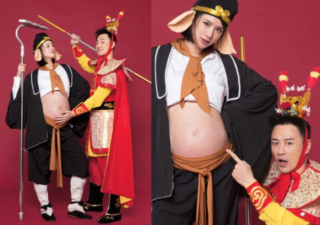 raymond lam's wife maternity photos