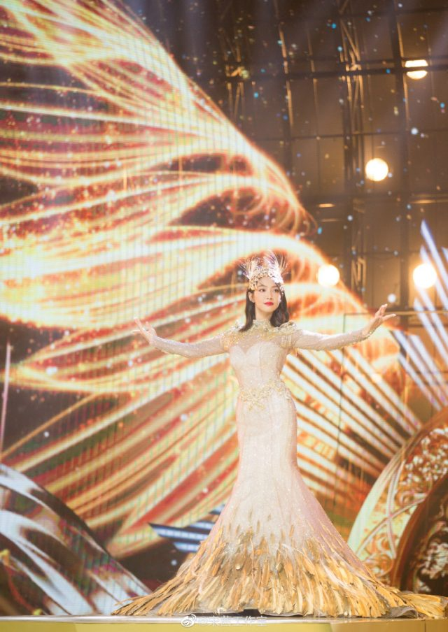 victoria song qian golden eagle goddess