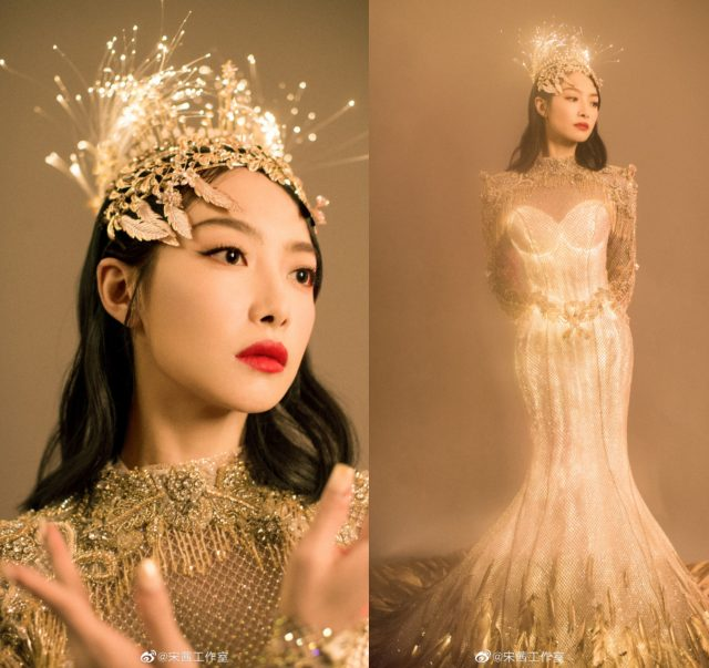 Victoria Song as the Golden Eagle Goddess, Zhao Lusi Apologizes for Liking a Diss Post