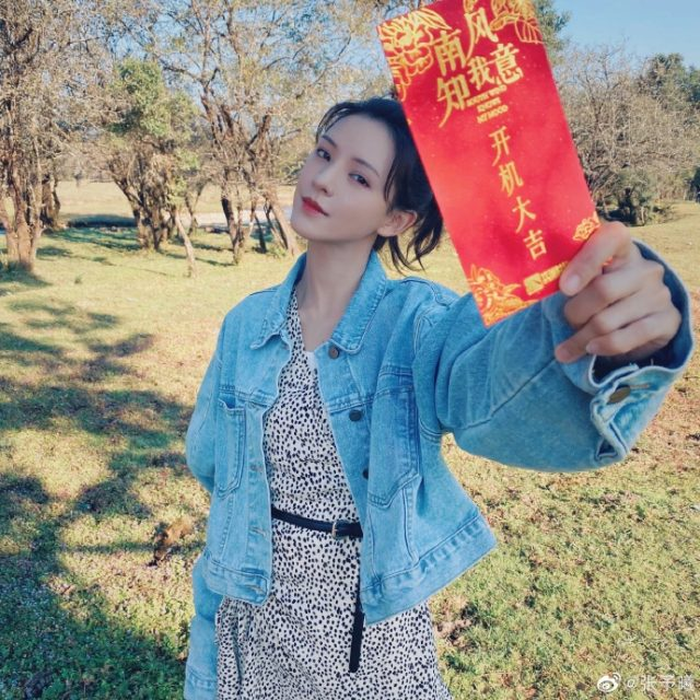 Zhang Yuxi in South Wind Knows My Mood