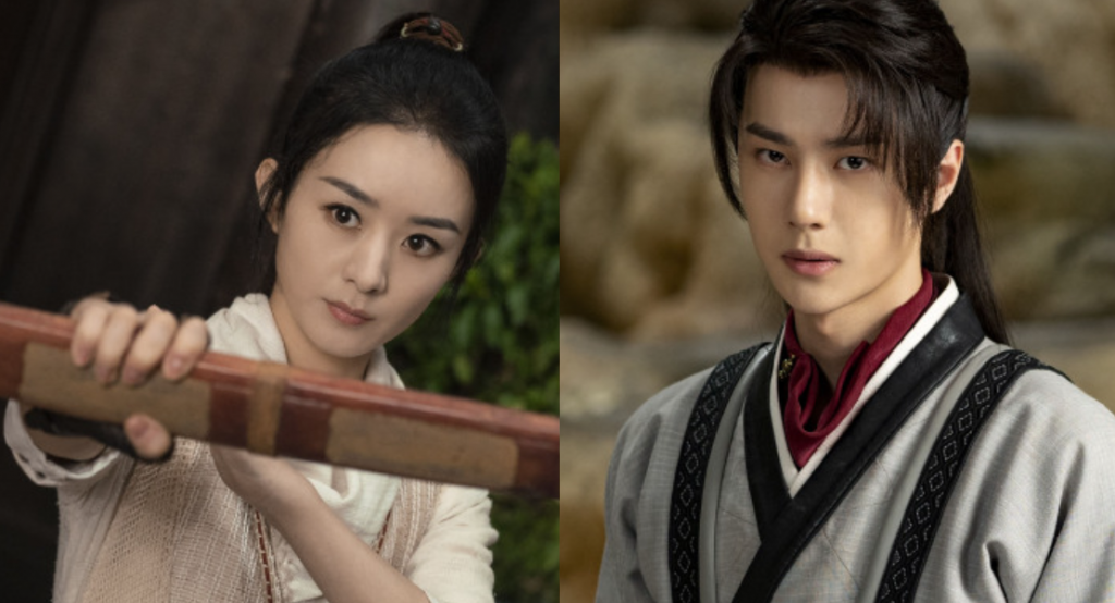 chinese wuxia dramas legend of fei