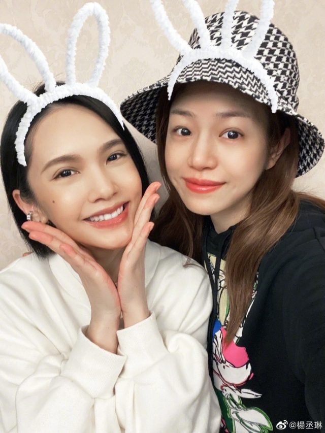 Best Friends Rainie Yang and Michelle Chen both appear in Sisters Who Make Waves