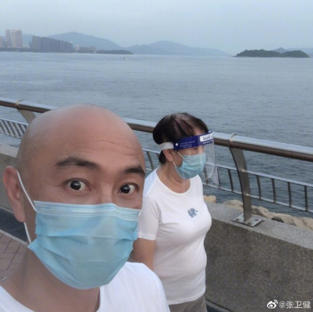 Dicky Cheung Finally Reunites with His Wife Jess Zhang After 531 Days