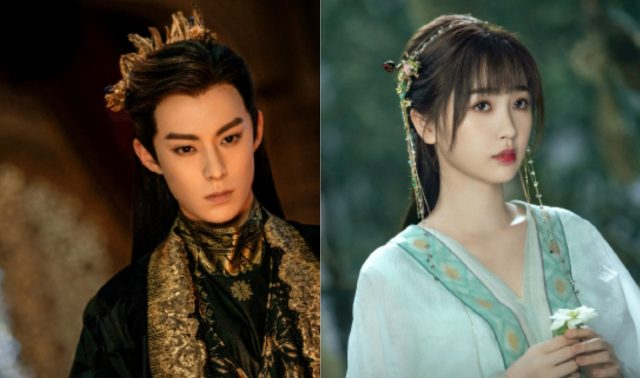 Dylan Wang and Esther Yu in Cang Lan Jue