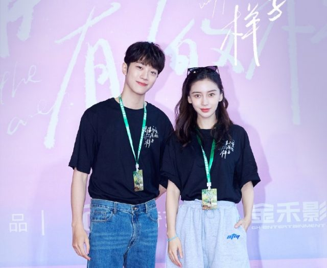 Love the Way You Are stars Lai Guanlin and Angelababy