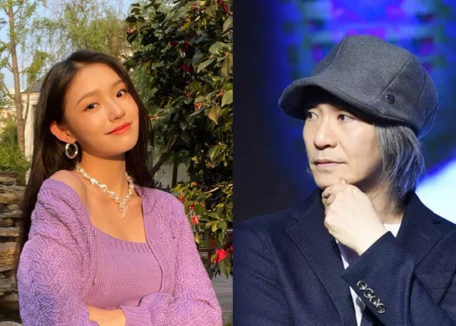 Jelly Lin and Stephen Chow