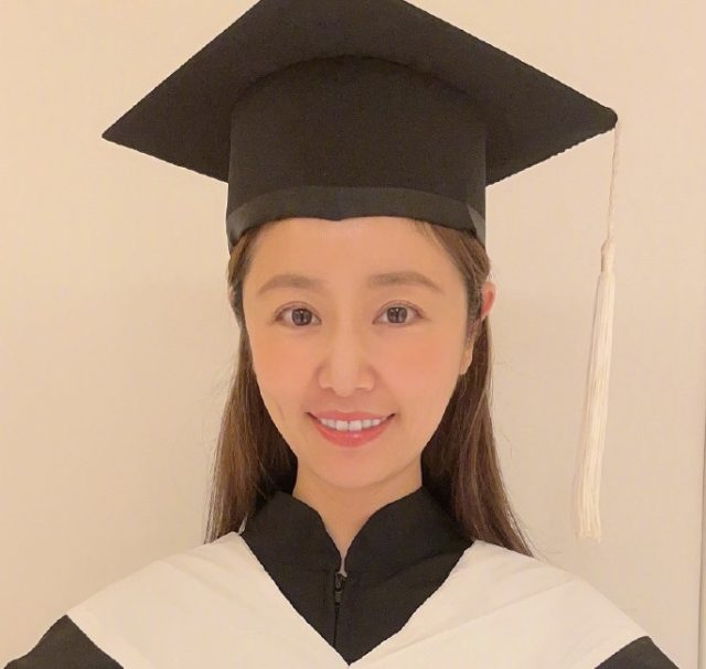 Ruby Lin Graduates with a Master's Degree