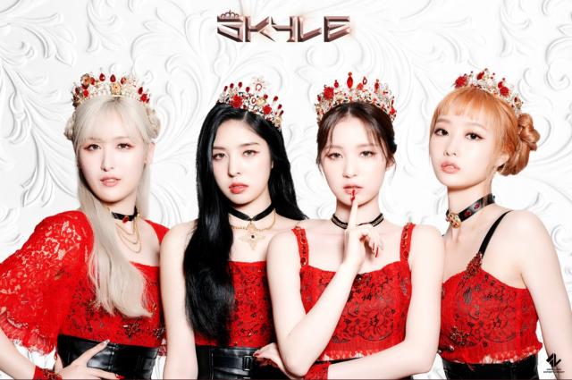 skyle members Ujeong, Erin, Chaehyeon and Ginny