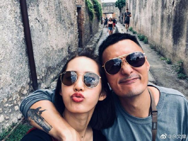 Shawn Yue with his wife Sarah